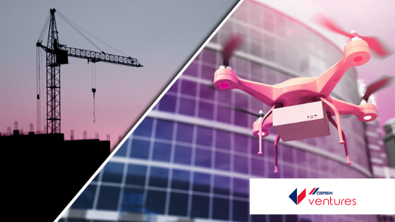 Drones in the construction industry CEMEX Ventures