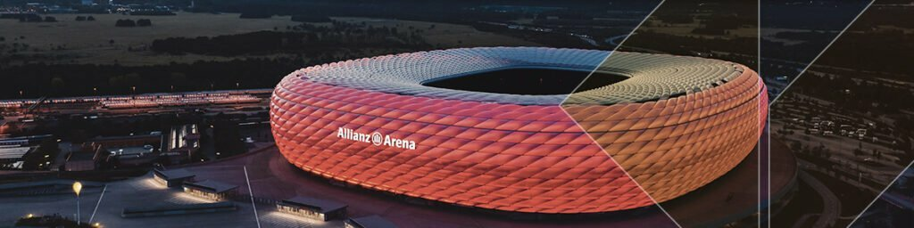 Smart Building in Munich Allianz Arena