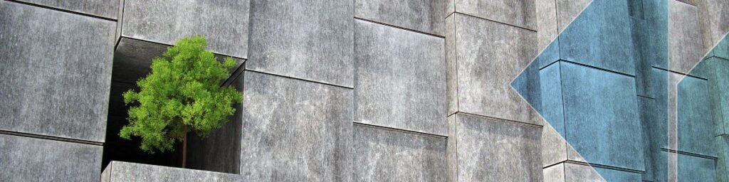 Sustainable Concrete wall
